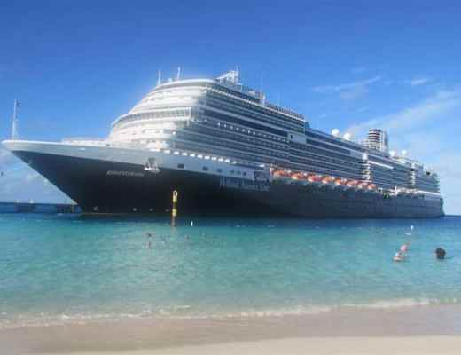 Holland America Line Koningsdam in the Caribbean