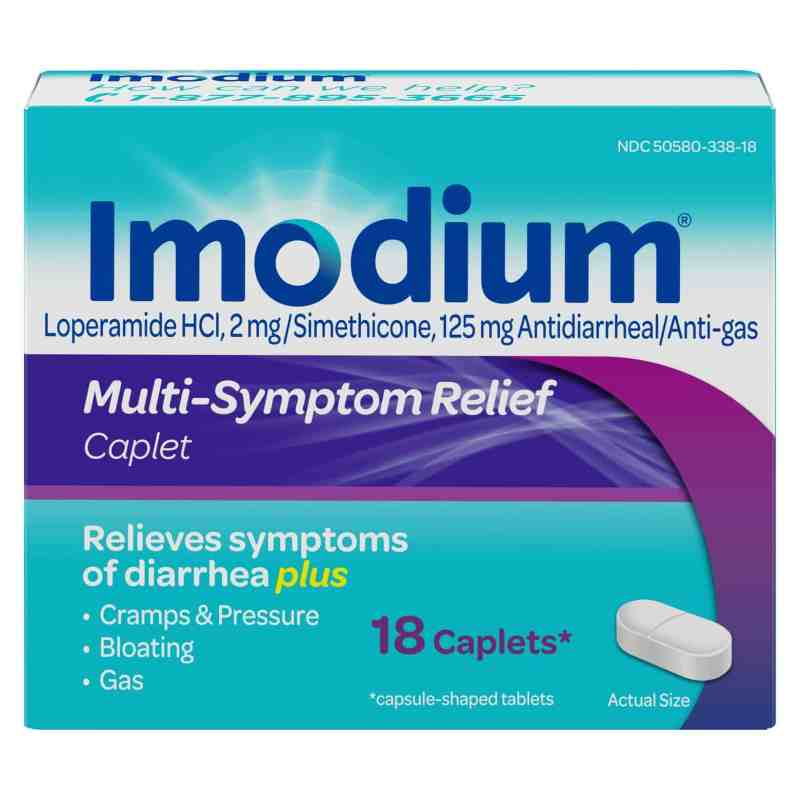 imodium for travelers' diarrhea