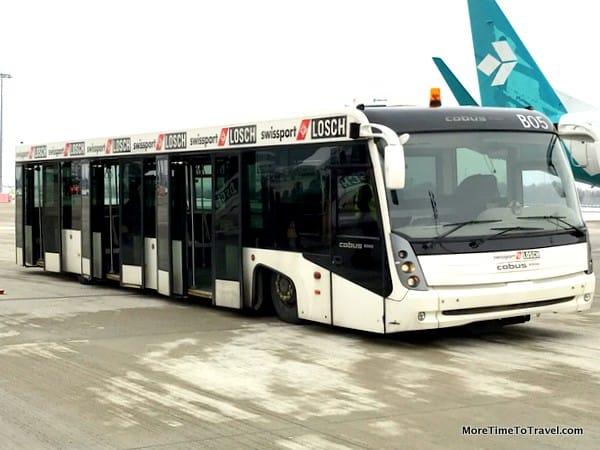 Air Dolomiti shuttle bus