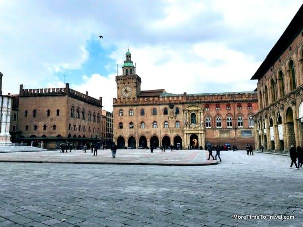 Piazza Maggiore in Bologna