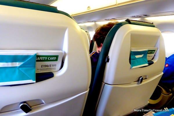 Seating on Air Dolomiti Embraer 195