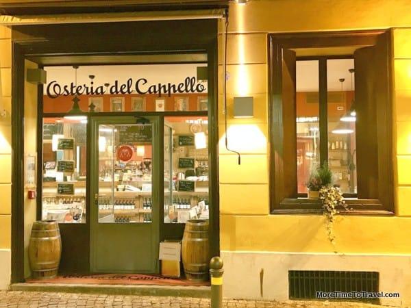 Osteria Del Cappello in Bologna