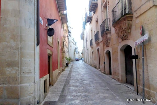 Another inviting street in Galatina