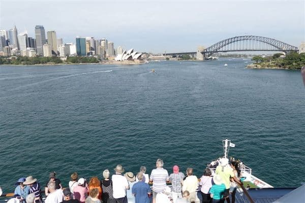Crystal Serenity World Cruise reaches Sydney