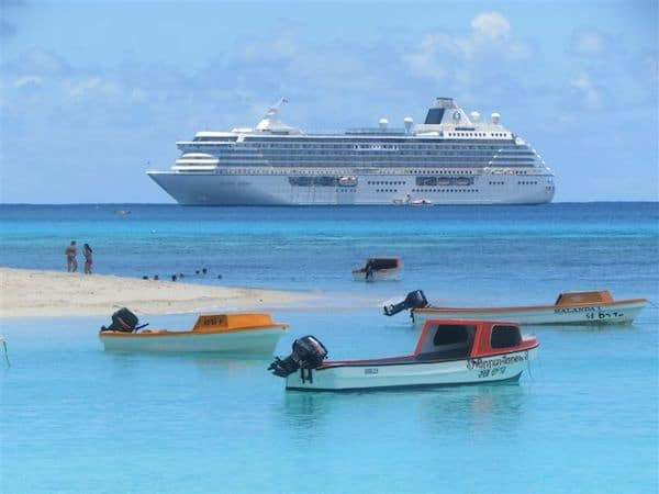 Crystal Serenity in the South Pacific