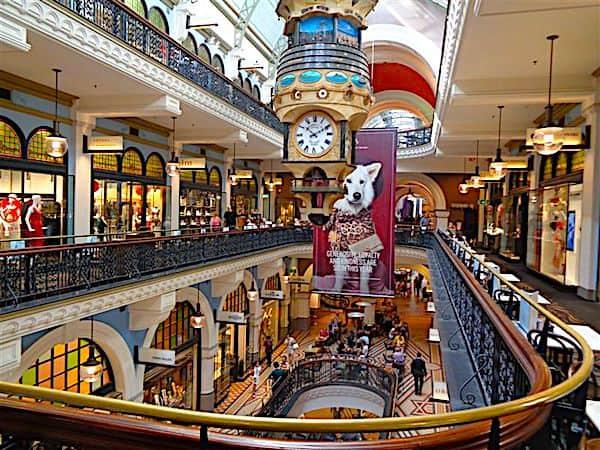 Sydney's Queen Victoria Shopping Centre