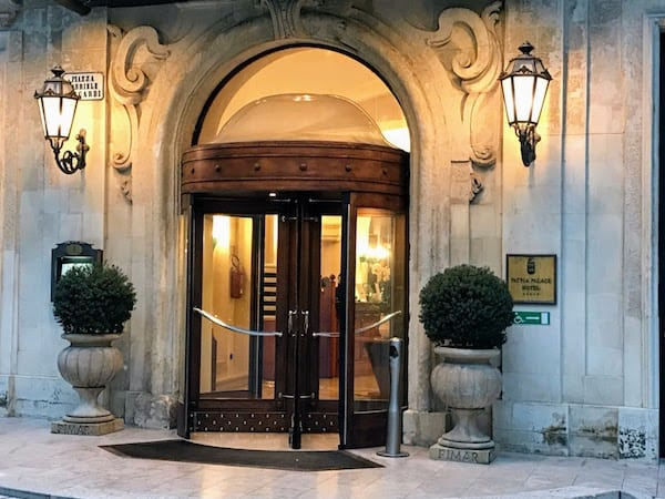 "Patrizia Palace - a more ""typical"" luxury hotel in Lecce"
