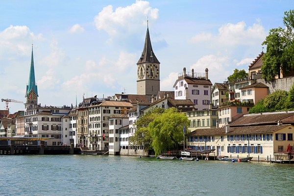 View of Zurich (Credit: Pixabay)