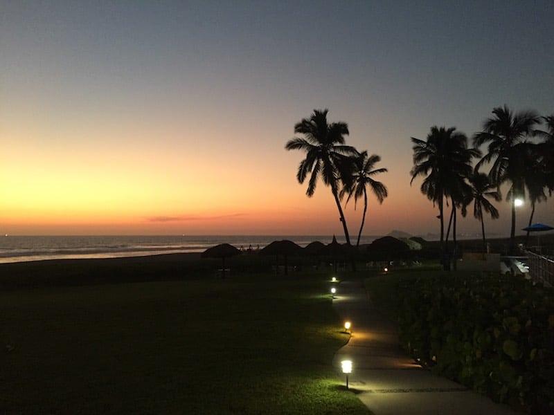 Evening at Estrella del Mar