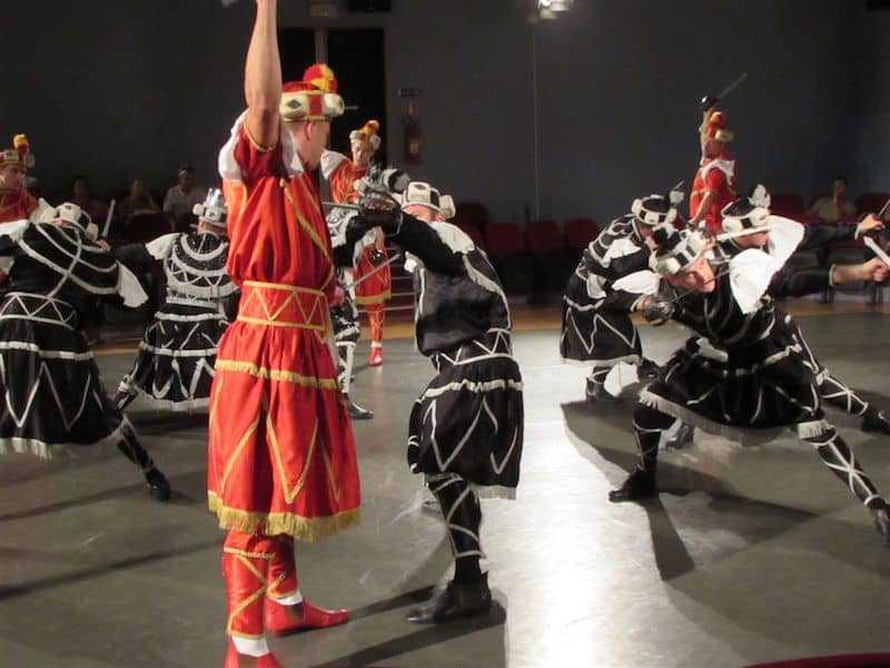 Traditional Moreska Sword Dance
