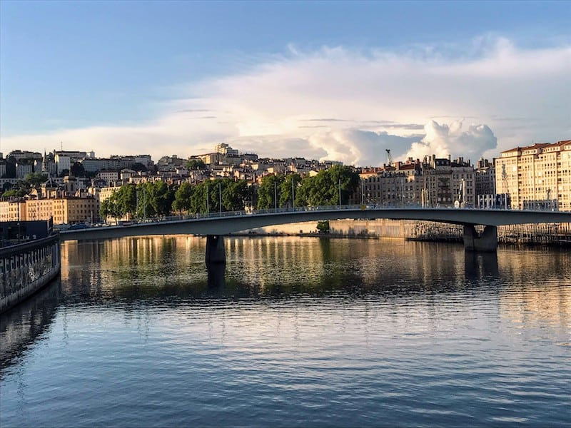 View of the Saone