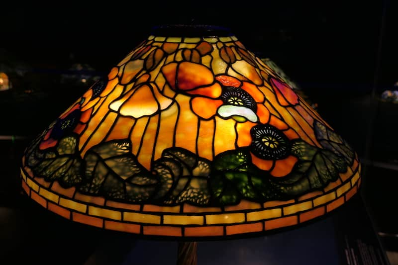 Tiffany Poppy Lamp (Credit: Jerome Levine)