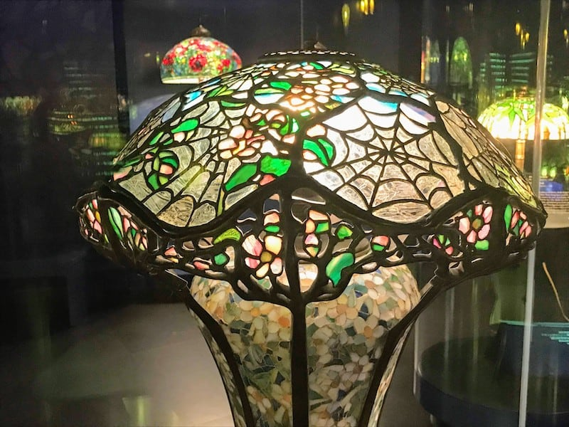 Cobweb Shade Tiffany Lamp (Credit: Jerome Levine)