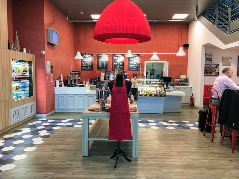 L'Atelier Gourmand, one of the newest eateries in the Strasbourg Airport (Credit: Jerome Levine)