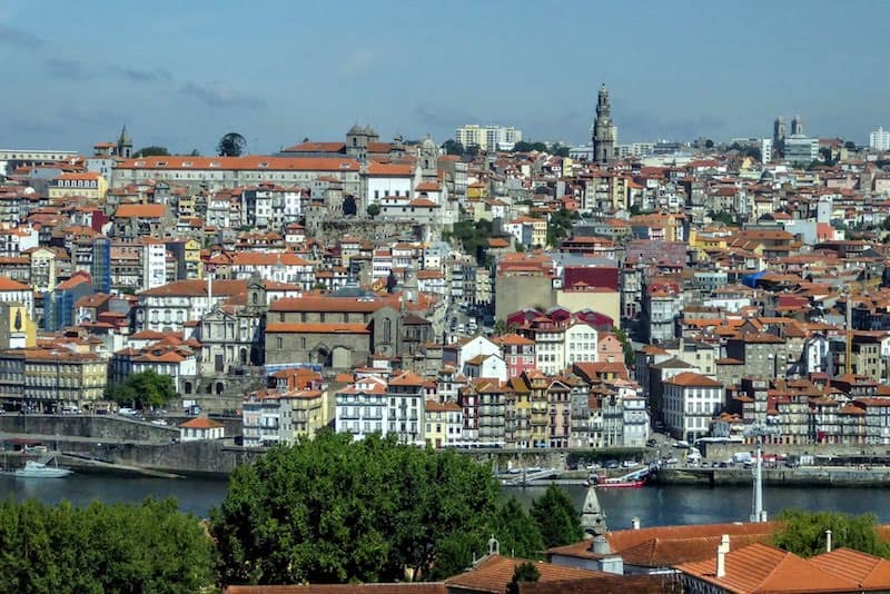 View of Porto from Gaia (credit: Jerome Levine)