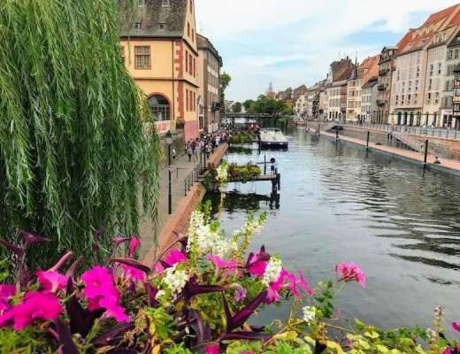 One day in Strasbourg: Picturesque view of Strasbourg