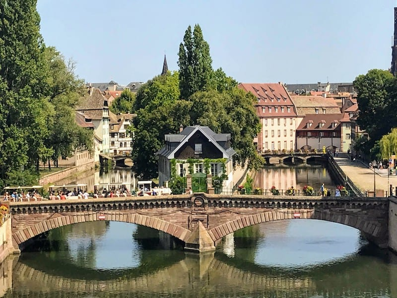 One Day in Strasbourg: Covered bridge in Strasbourg