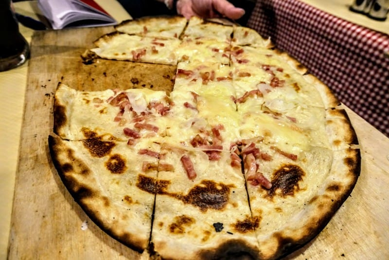 One Day in Strasbourg: Tarte Flambee