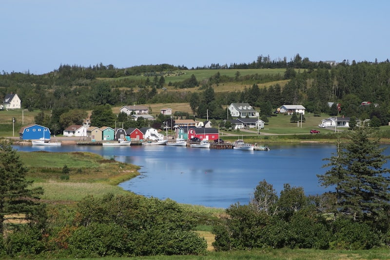 Food Island - French River Panorama