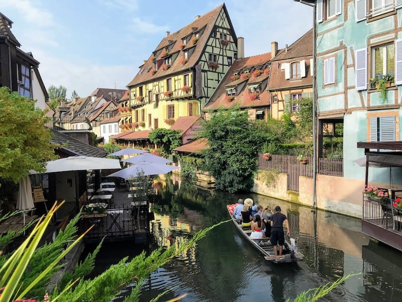 Best Day Trip from Strasbourg - Another view of the colorful houses in Little Venice in Colmar