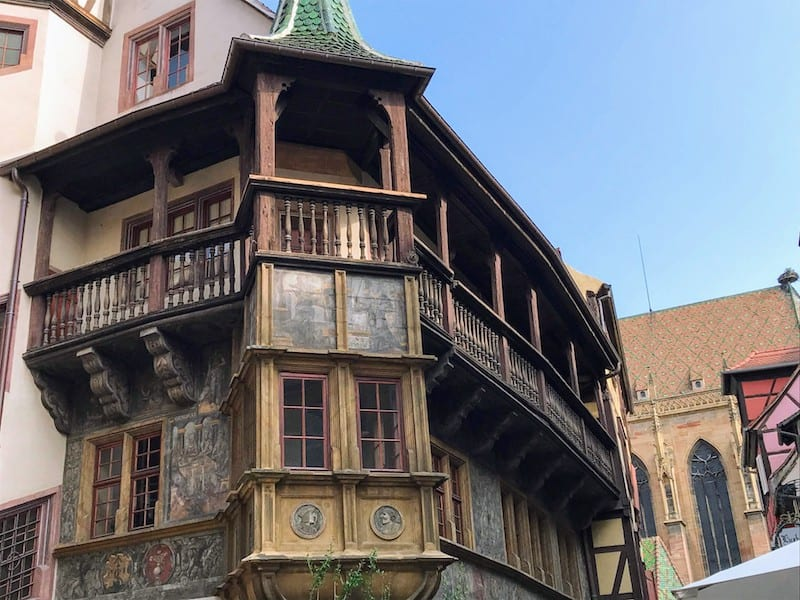 Best Day Trip from Strasbourg - Maison Pfister, a Renaissance building from 1537 in Colmar