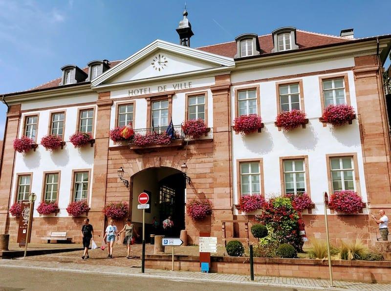 Best Day Trip from Strasbourg - Hotel de Ville in Riquewihr