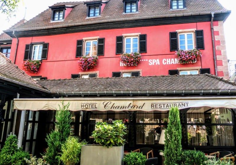 Hotel Chambard, where Anthony Bourdain took his life
