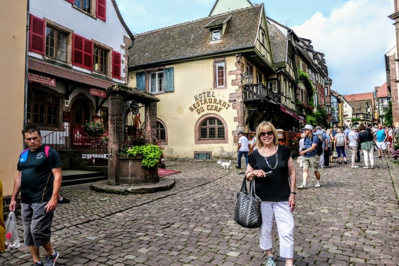 Best Day Trip from Strasbourg - A characteristic street in Riquewihr