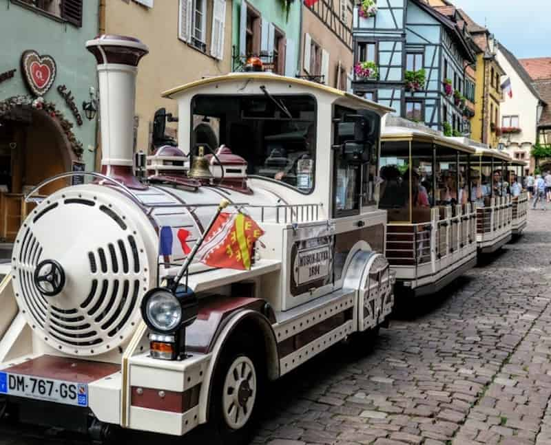 Best Day Trip from Strasbourg - The mini-train in Riquewihr