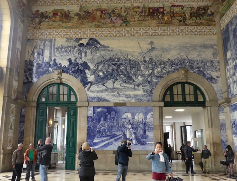 Porto's remarkable railway station