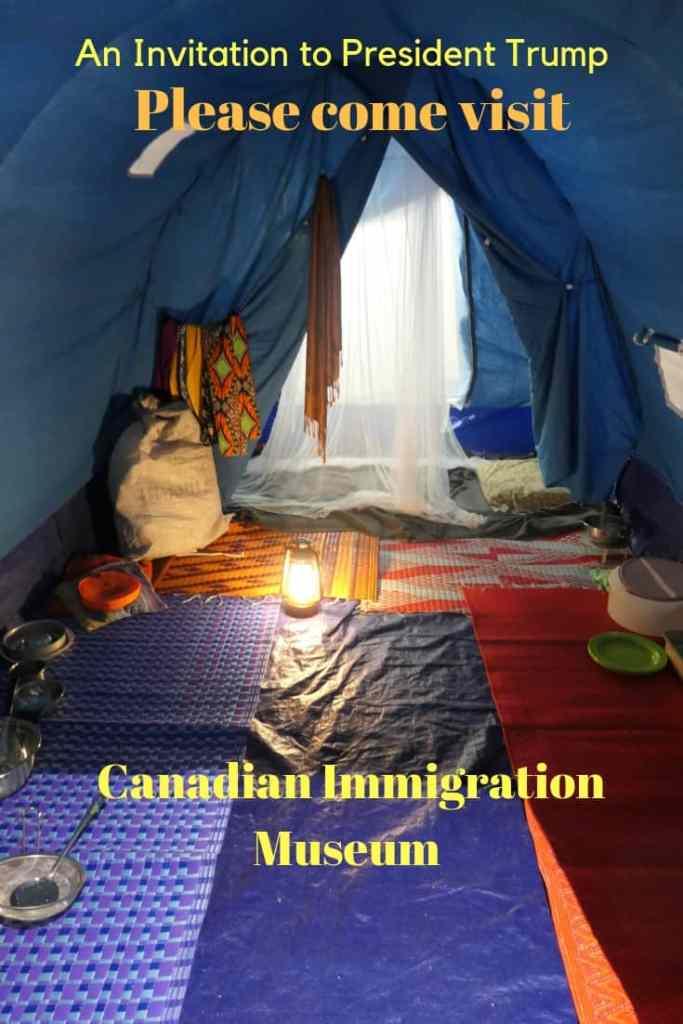 Invitation to Refuge Canada to President Trump