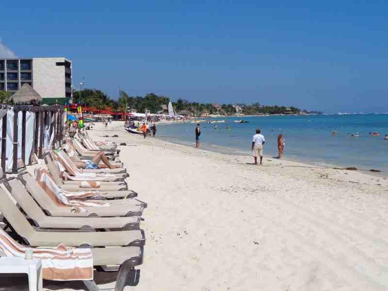 Beach at The Royal Playa del Carmen