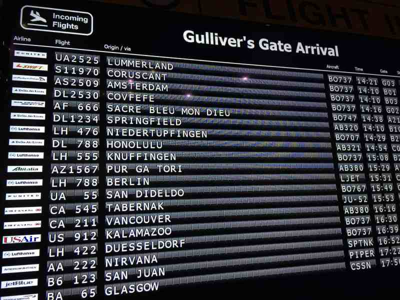 Gulliver's Gate: Airport