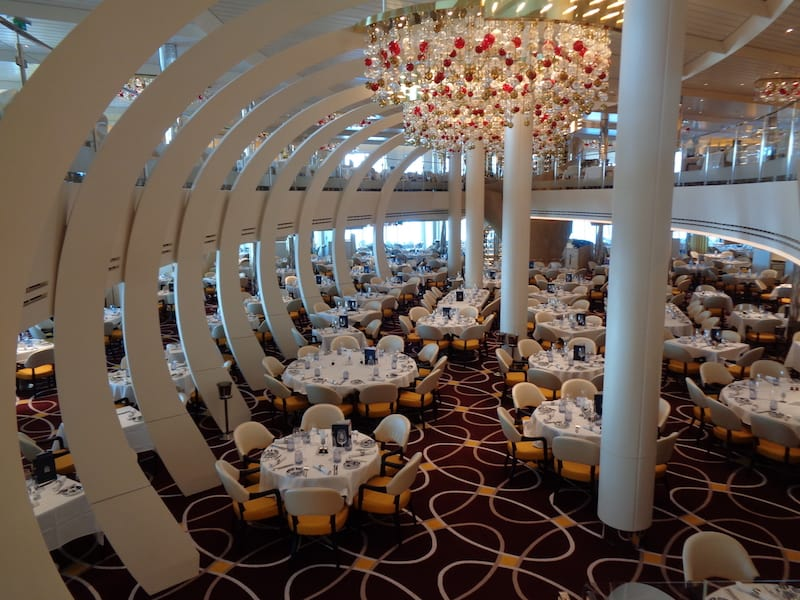 Main dining room: Like being inside a whale
