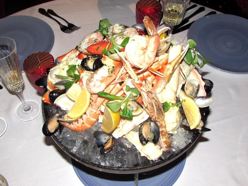 Seafood Appetizer at Sel de Mer