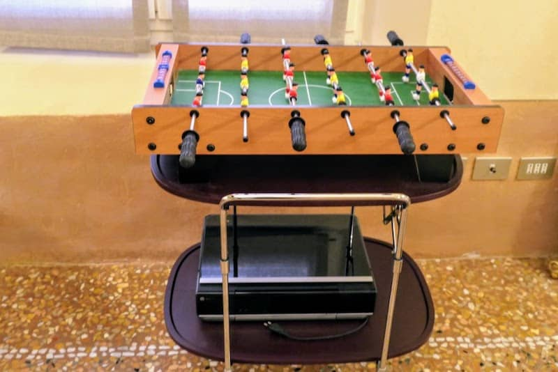 In-house foosball fun