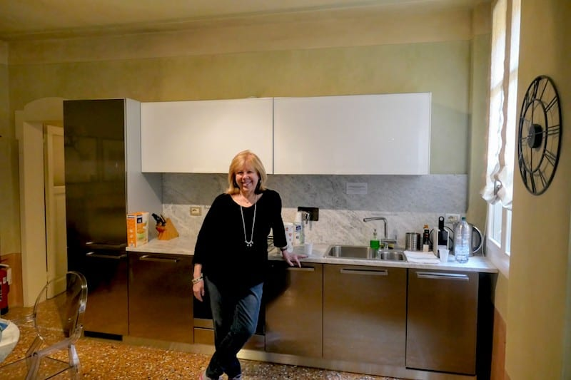Getting to know my kitchen in Bologna