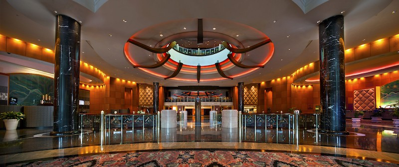 Foxwoods Grand Pequot Lobby (Credit: Foxwoods Resort Casino)