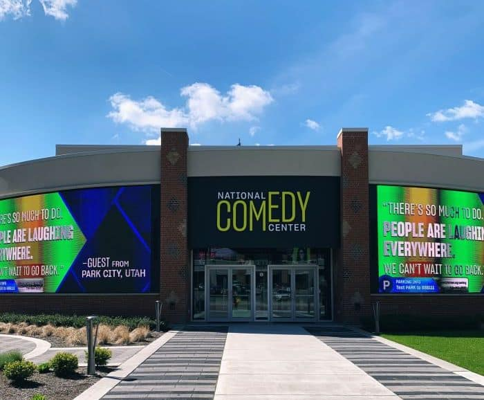 The National Comedy Center in Jamestown N.Y.