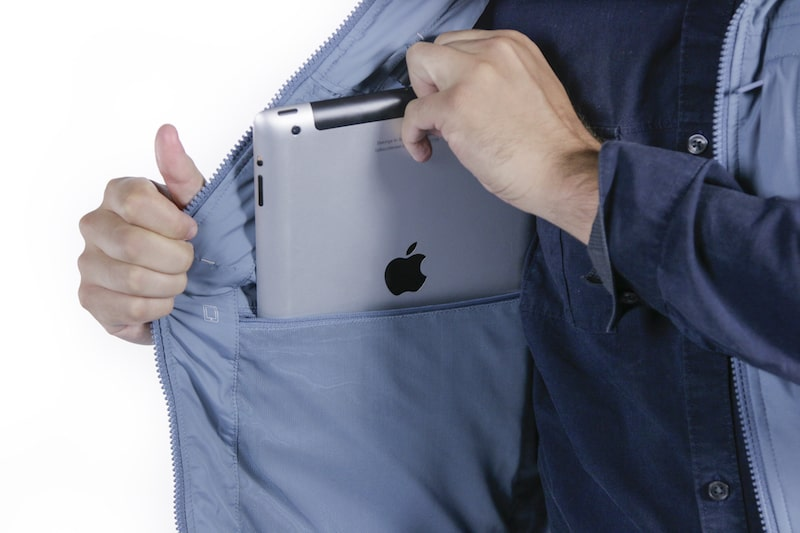 A pocket large enough to hold an iPad: How cool is that?