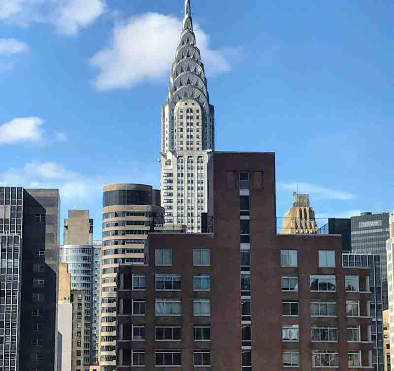 View of The Chrysler Building