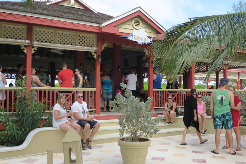 Schooners Seafood Grill on Sandals Island