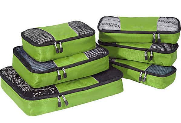 Holiday Gifts for Travelers: Set of E-Bag Packing Cubes