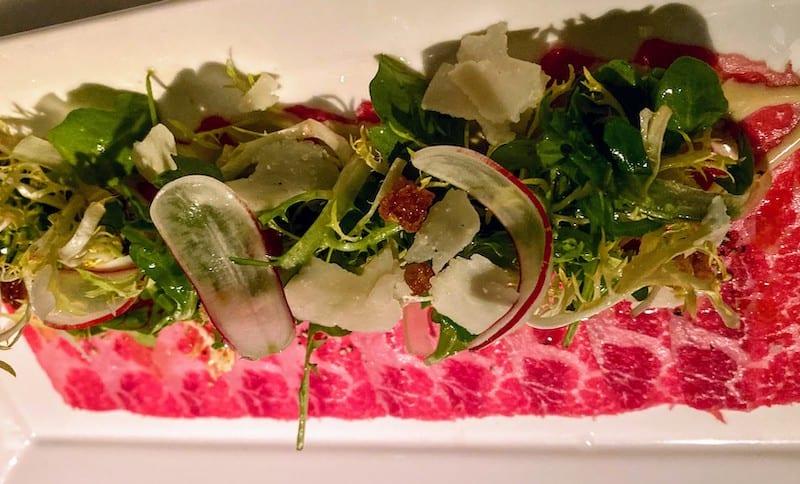 Best Meals: Portale short rib carpaccio appetizer