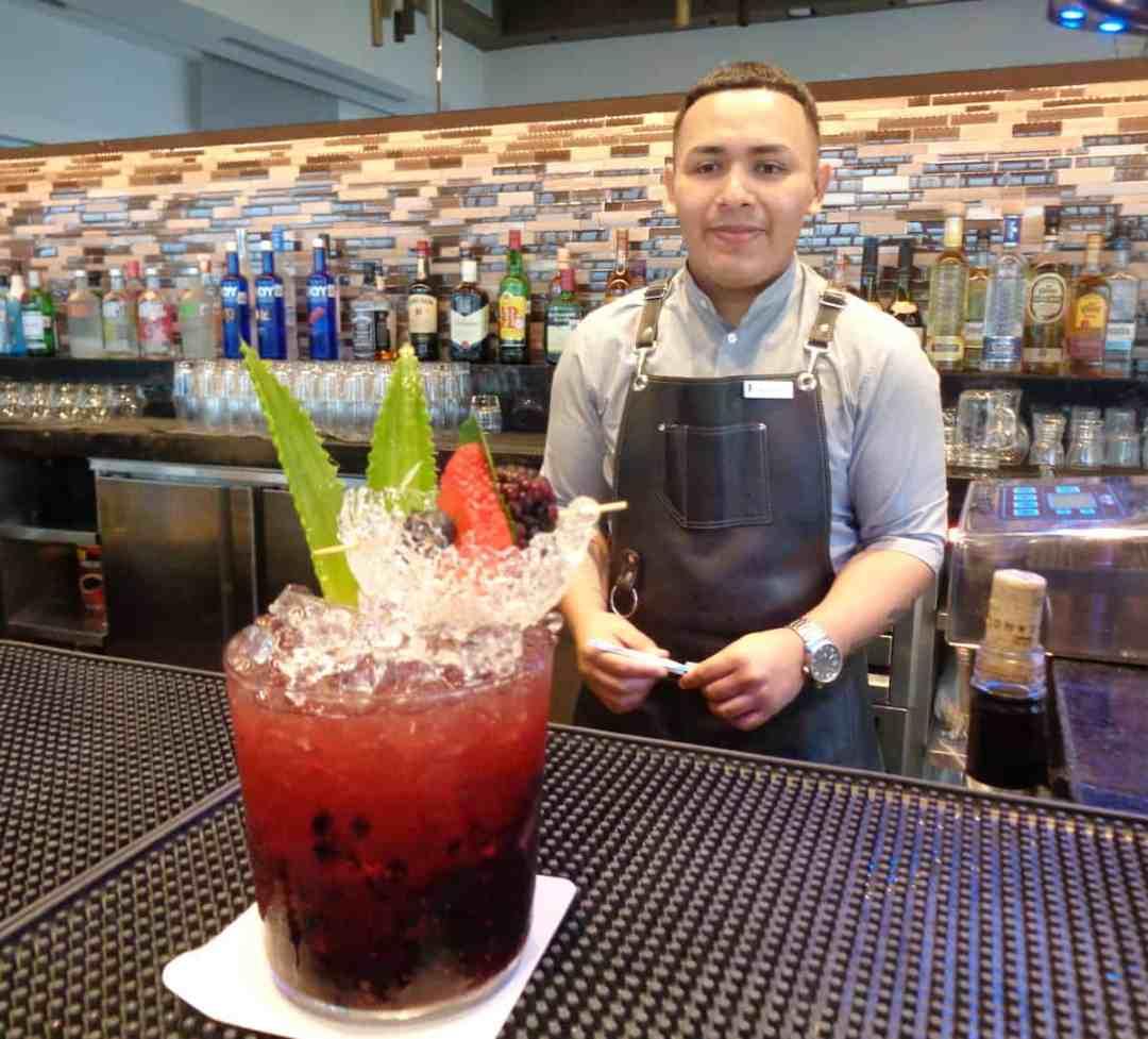 Meet Alex, the cocktail master