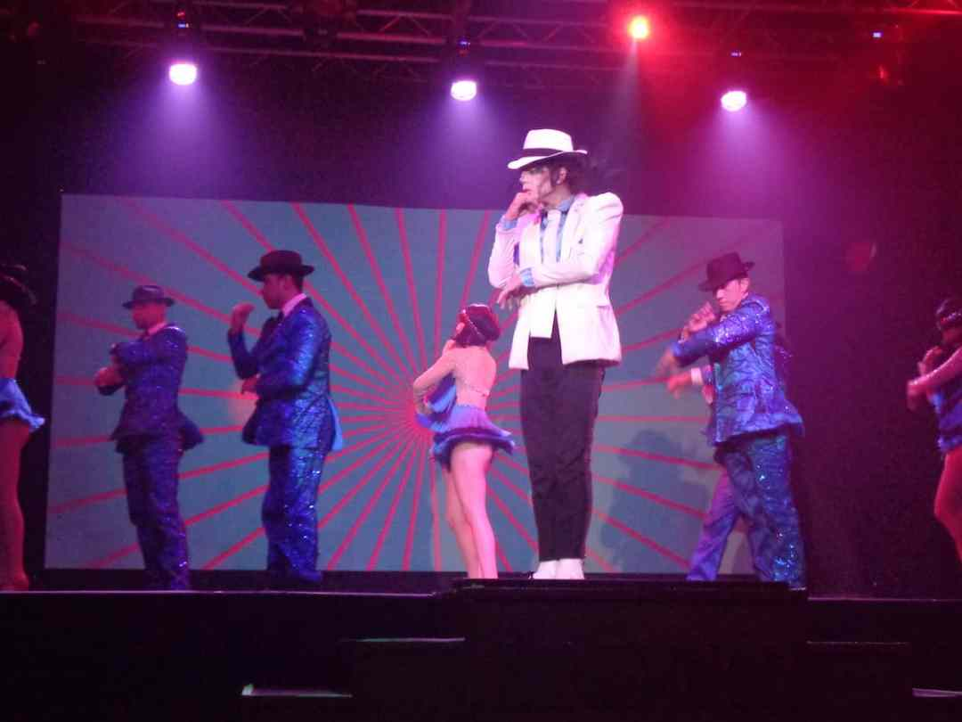 Michael Jackson show at Haven Riviera Cancun