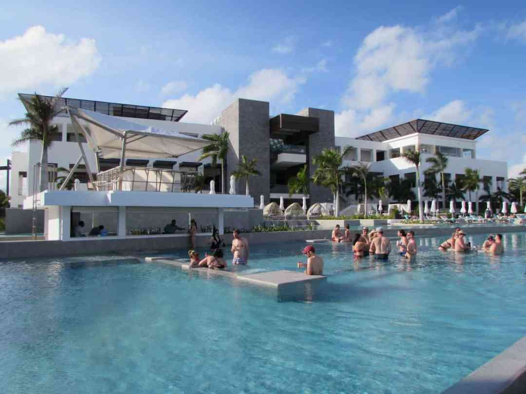 "The ""active"" main pool at Haven Riviera Cancun"