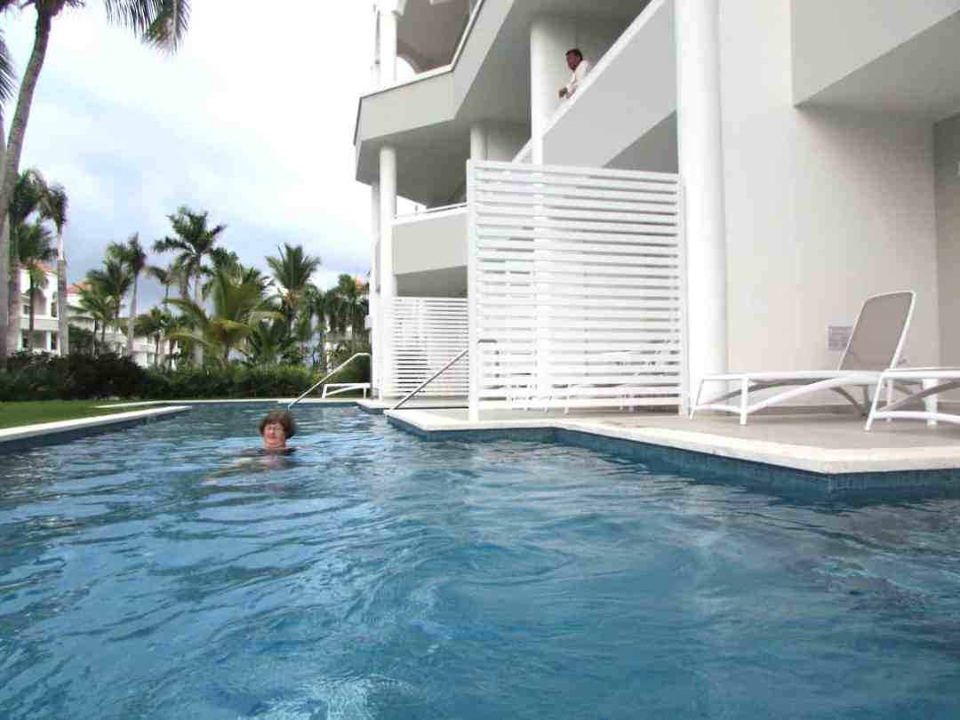 Bahia Principe Luxury Ambar: First-floor swim-out suite