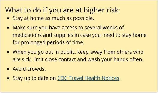 CDC Advice for Older Travelers