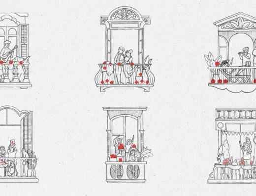 Saint Jordi balconies